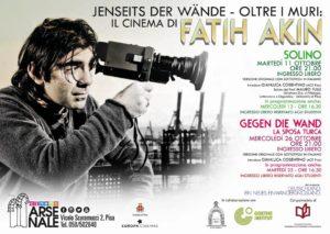 "11, 25 e 31 ottobre 2016 – Jenseits der Wände. Oltre i muri: il cinema di Fatih Akin. Dal progetto ACIT ""Deutschland ein neues Einwanderungsland"" / Germania terra di nuova immigrazione"
