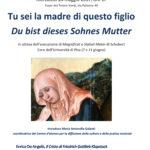 24 maggio 2017 – Tu sei la madre di questo figlio / Du bist dieses Sohnes Mutter, Incontro sullo «Stabat Mater» di Schubert