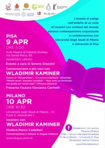 9 aprile 2018 – Incontro con Wladimir Kaminer